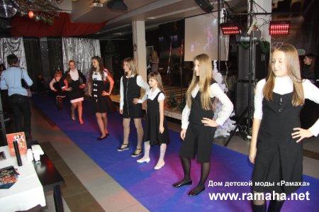 """Новогодняя вечеринка от Продюсерского агентства моделей """"Galaxy"""", где была представлена наша коллекция"""