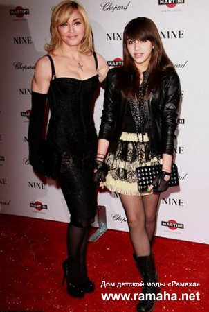 Мадонна и Лурдес запускают линию одежды для молодежи