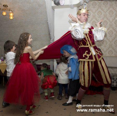 Новогодний карнавал «В гостях у РАМАХИ»